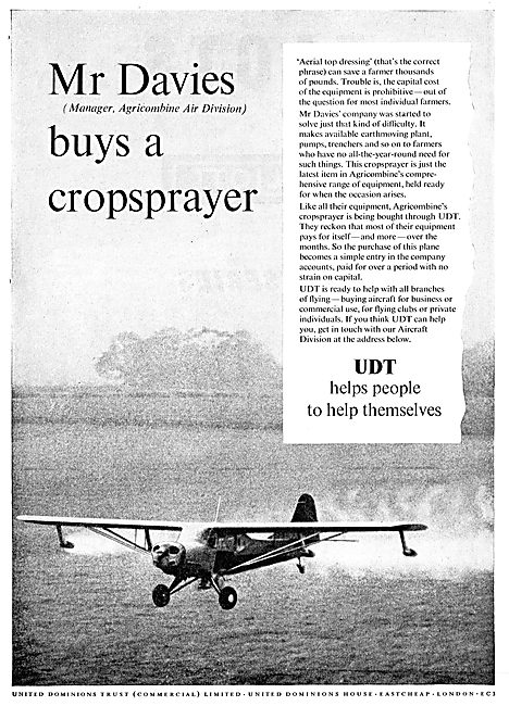 United Dominions Trust -Mr Davies Buys A Cropsprayer