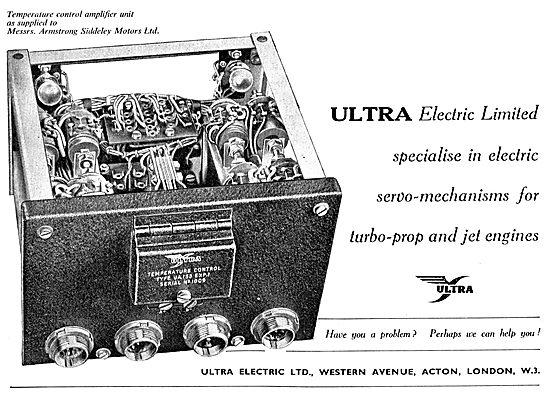 Ultra Electric Ltd : Electric Servo Mechanisms