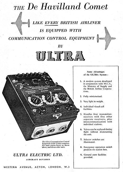 Ultra Electric Ltd : Communication Control Equipment