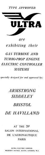 Ultra Electric Ltd : Turbo-Prop Engine Controller Systems