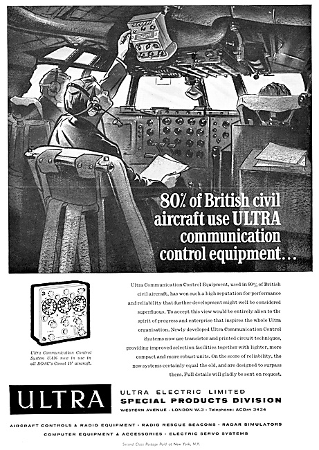 Ultra Aircraft Controls, Avionic,Computer & Electrical Components