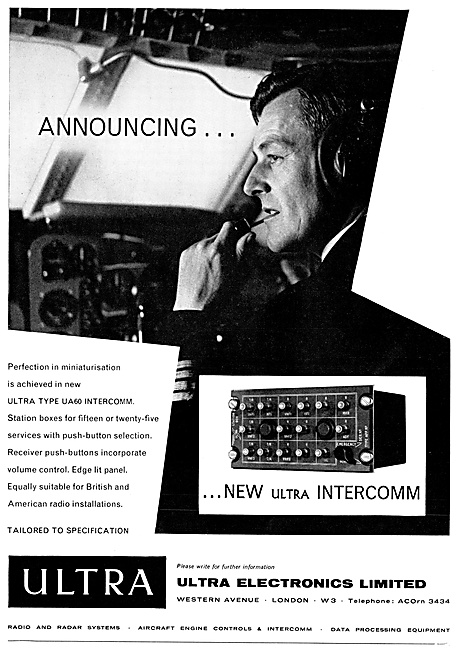 Ultra Electronics Aircraft Communications Equipment
