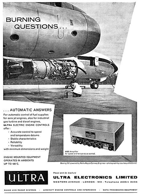 Ultra Electronics Electric Engine Controls 1960