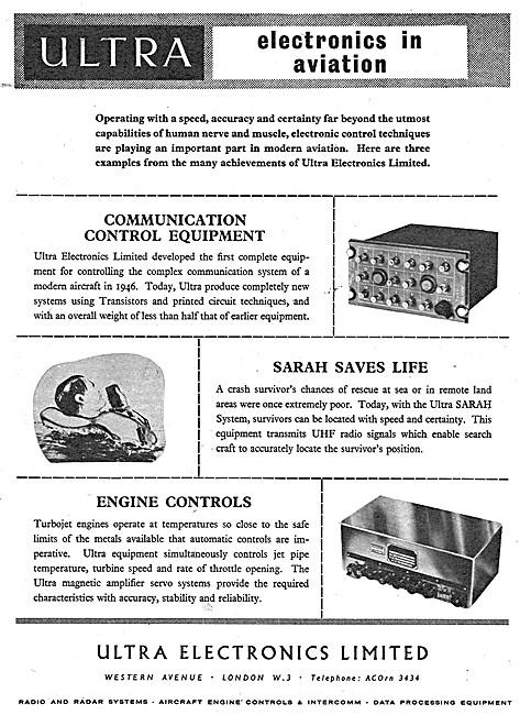 Ultra Electronics - Ultra SARAH UHF Emergency Locator System