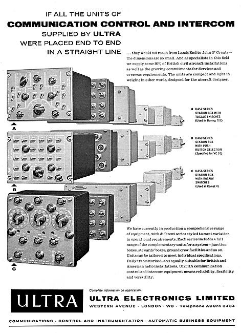 Ultra Electronics Communications & Control Equipment