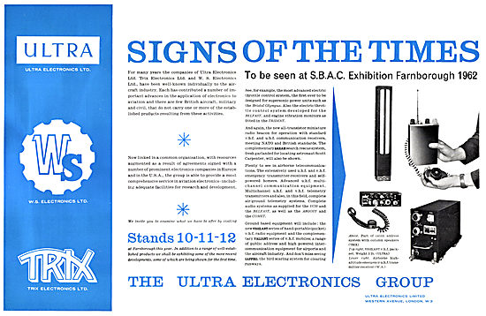 Ultra Electronics - TRIX Electronics - W.S.Electronics