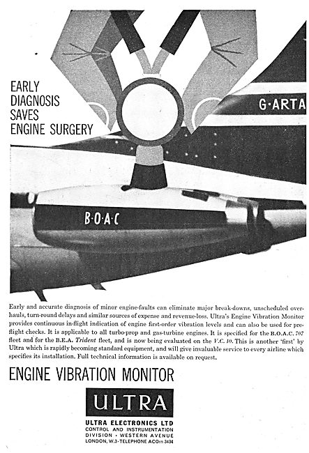 Ultra Electronics - Engine Vibration Monitors