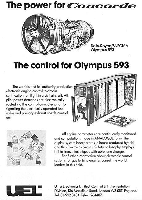 Ultra Electronics. Electronic Engine Control System 1976