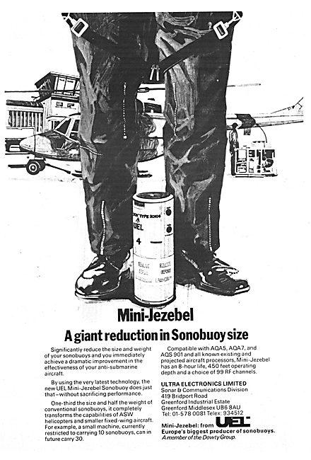 Ultra Electronics Mini-Jezebel Sonobuoy 1977
