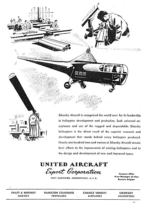 United Aircraft Export Corp - UAC - Sikorsky Helicopters