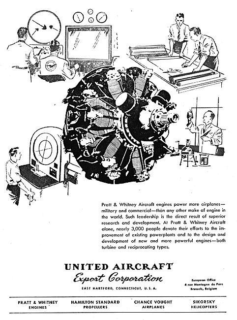 United Aircraft Export - UAC - Pratt & Whitney R-2180 Twin Wasp