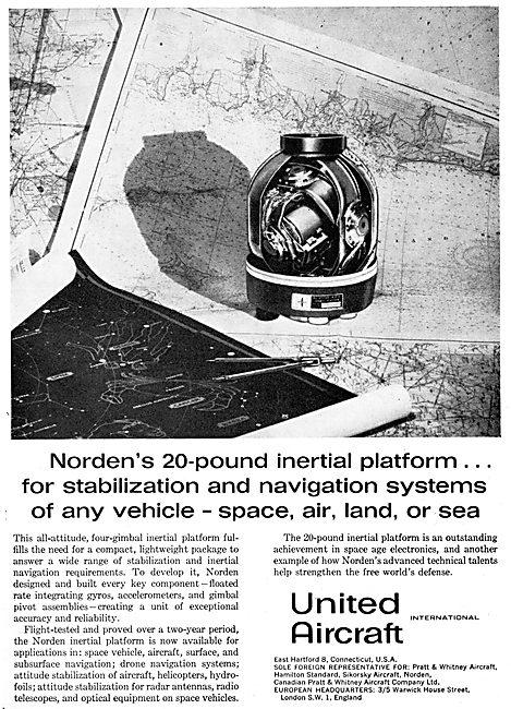 United Aircraft International - Norden Inertial Platform