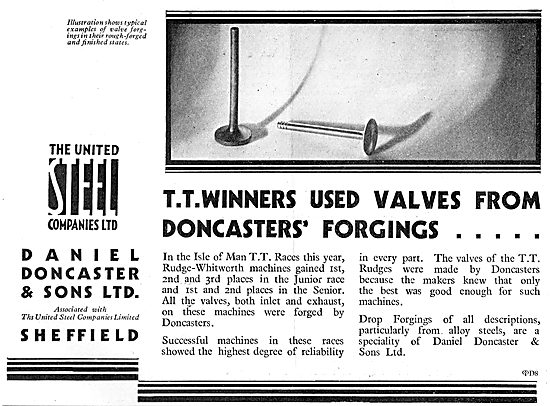 The United Steel Companies: Daniel Doncaster Forgings