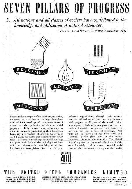 The United Steel Companies UK 1942