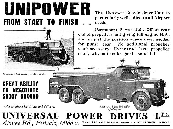 Universal Power Drives Vehicle Transmission Assemblies 1937