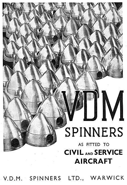 VDM Propeller Spinners