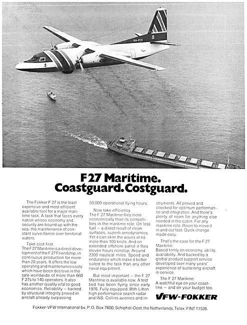 VFW-Fokker F 27 Maritime