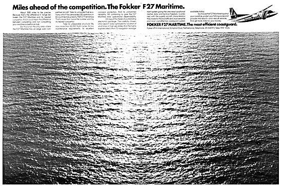 VFW-Fokker F27 Maritime