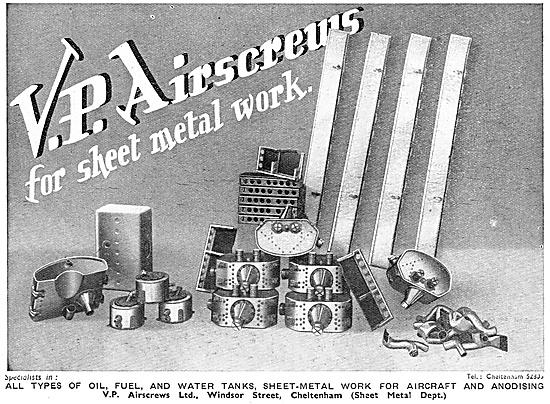V.P. Airscrews Aircraft Sheet Metalworkers