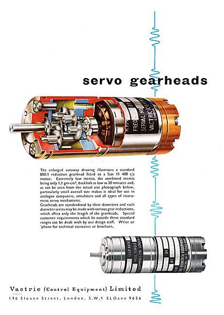 Vactric Servo Gearheads