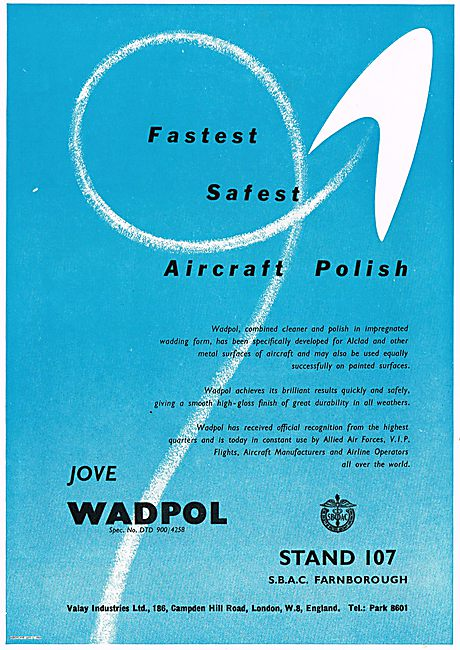 Jove Wadpol The Fastest Safest Aircraft Polish