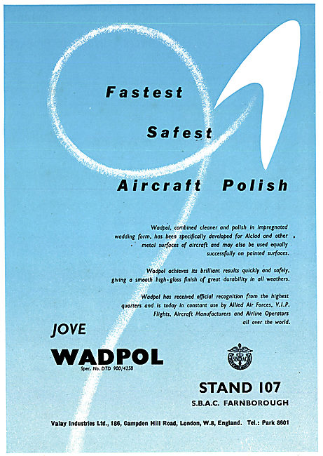 Valay Jove Wadpol - Metal Cleaner & Aircraft Polish