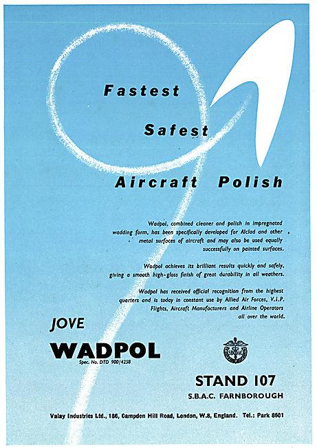 Valay Jove Wadpol - Metal Cleaner & Aircraft Polish
