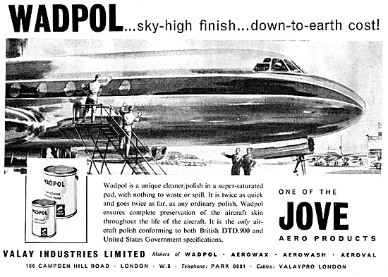 Valay Jove Wadpol Aircraft Polish