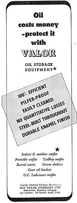 Valor Oil Storage Equipment