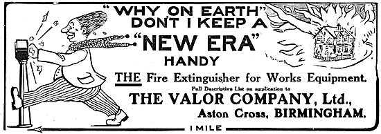 Valor New Era Fire Extinguisher 1916