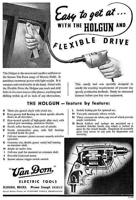 Van Dorn Portable Electric Tools