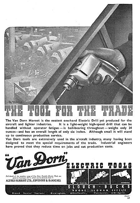 Van Dorn Hornet Electric Drill