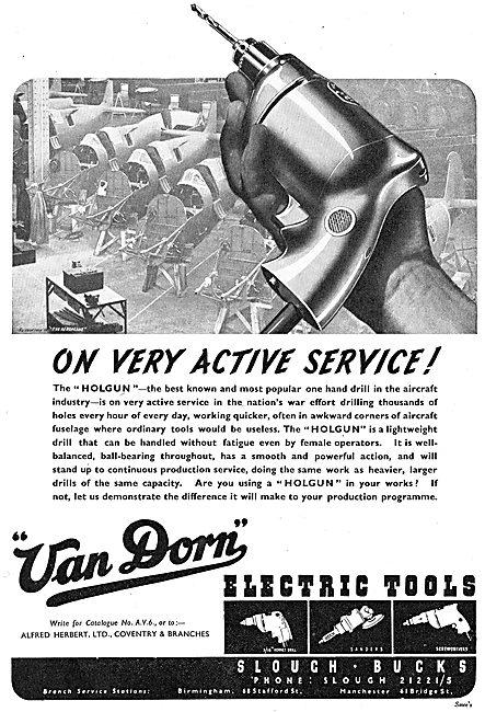 Van Dorn Holgun Drill