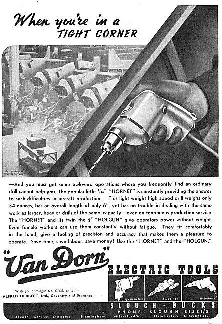 Van Dorn Electrical Hand Tools For Engineers