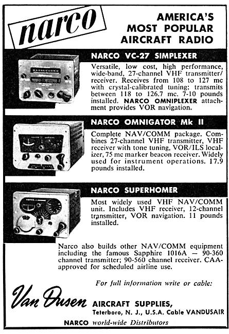 Van Dusen - Narco All Channel VHF Communications: