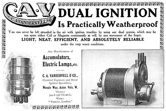 C.A.Vandervell Aero-Engine Igintion Systems.