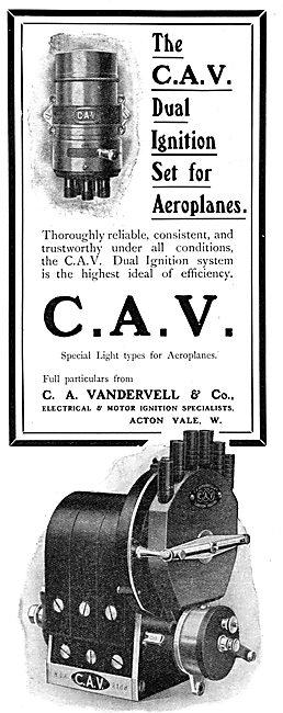 Vandervell C.A.V. Aeroplane Ignition Systems