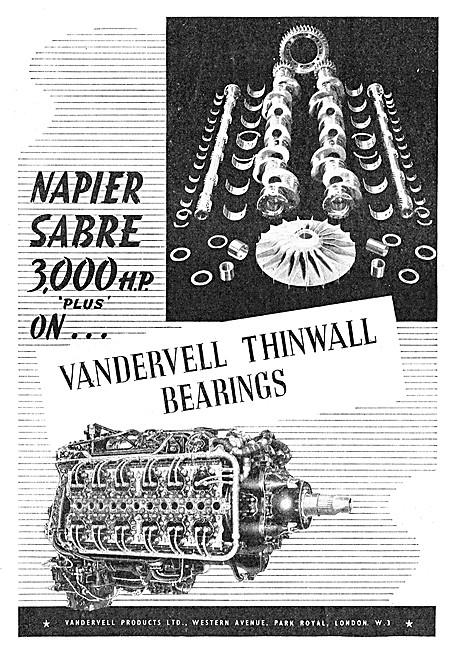 Vandervell Thinwall Bearings
