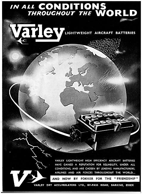 Varley Accumulators - Varley Batteries