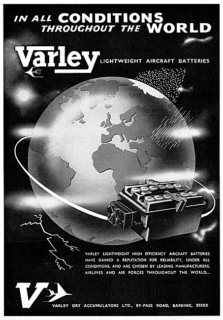 Varley Aircraft Batteries 1959