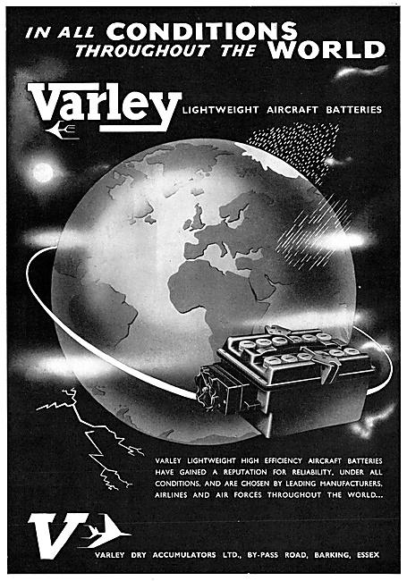 Varley Aircraft Batteries