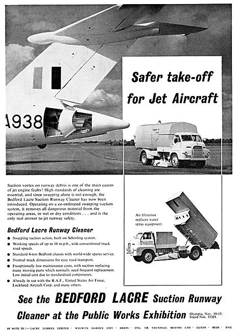 Bedford Lacre  Runway Sweeper 1958