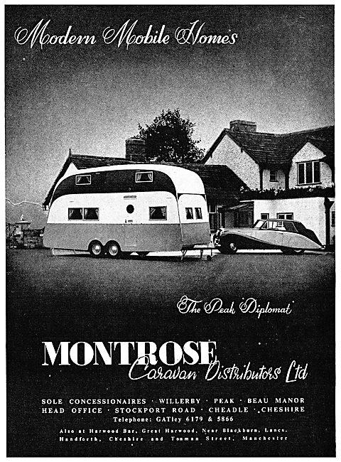 Montrose Caravans : Your Home On The Drome. Peak Diplomat