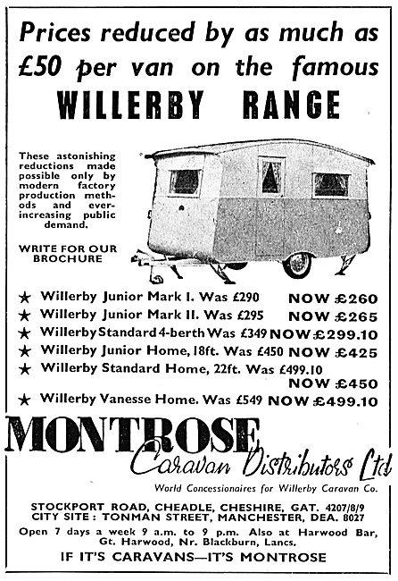 Montrose Caravan Distributors Ltd : Willerby Caravans