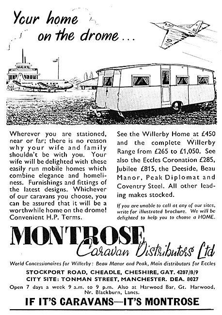 Montrose Caravan Distributors Ltd - Willerby Eccles Coronation
