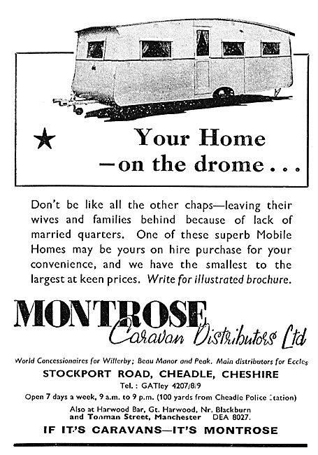 Montrose Caravan Distributors : Your Home On The Drome