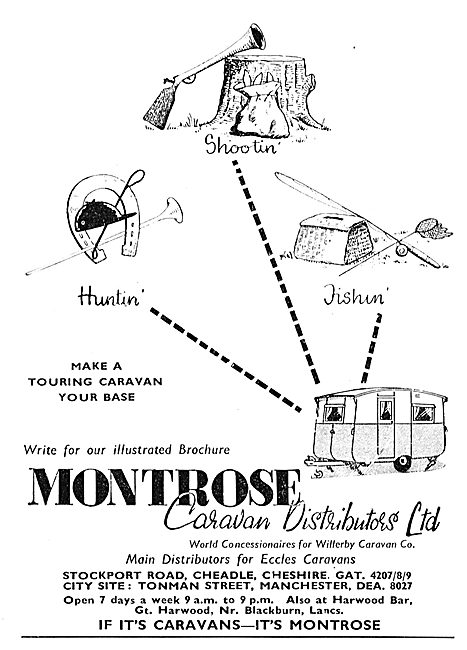 Montrose Caravan Distributors Ltd: Willerby Eccles Caravans