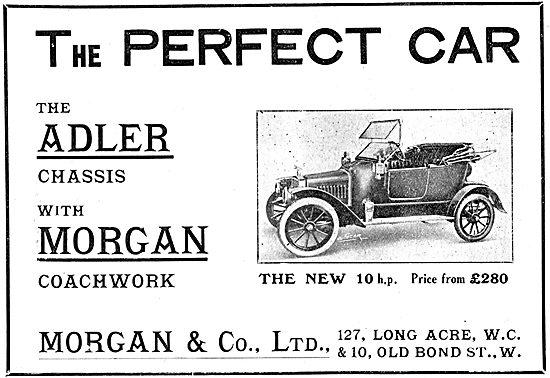 Morgan Coachwork  Adler Chassis - Adler 10hp 1912