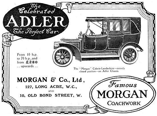Adler Morgan Cabrio-Landaulette 1912