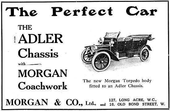 Adler Morgan Torpedo Body Car 1912